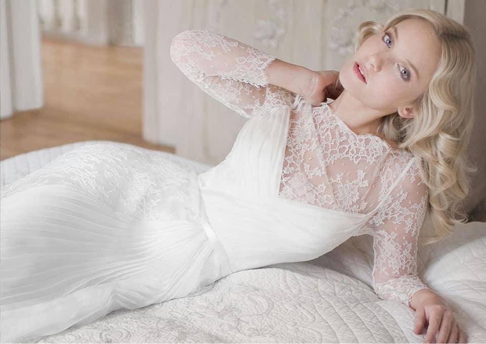 Robe de mariée haute couture - modèle Les exclusives