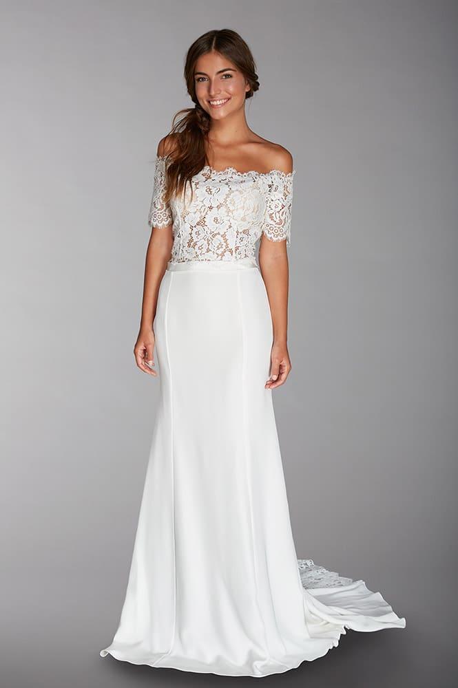 Robe de mariée sur mesure - modèle Fergie