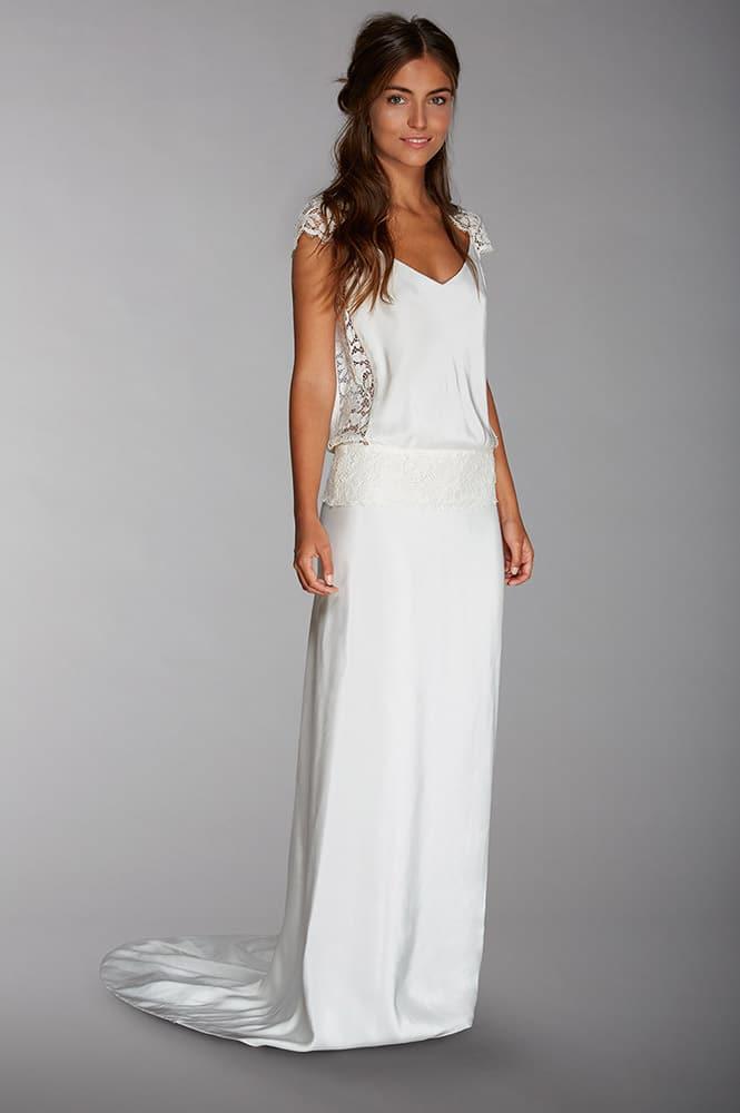 Robe de mariée bohème - modèle Paula