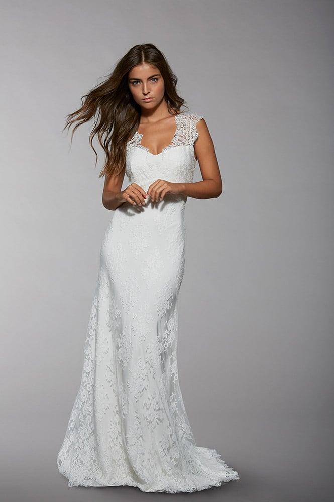 Robe de mariée en dentelle - modèle Shirley