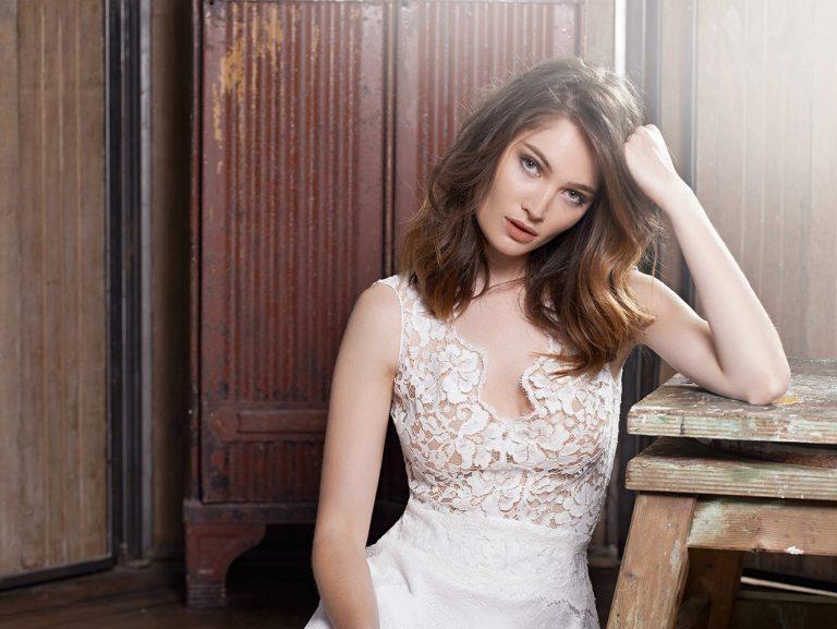 Robe de mariée glamour - modèle Jodphur