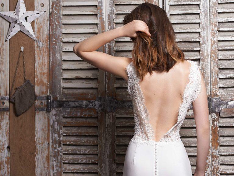 Robe de mariée dos nu - modèleMalaga