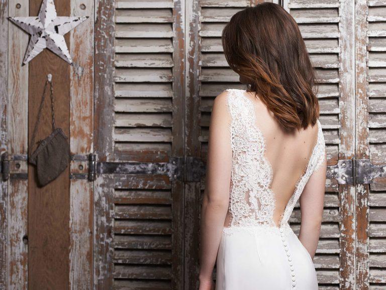 Robe de mariée dos nu- modèle Malaga