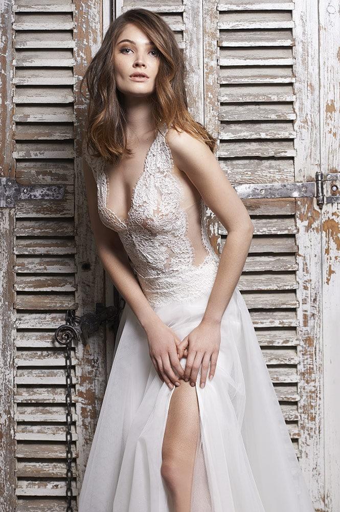 Robe de mariée sur mesure - modèleMalaga