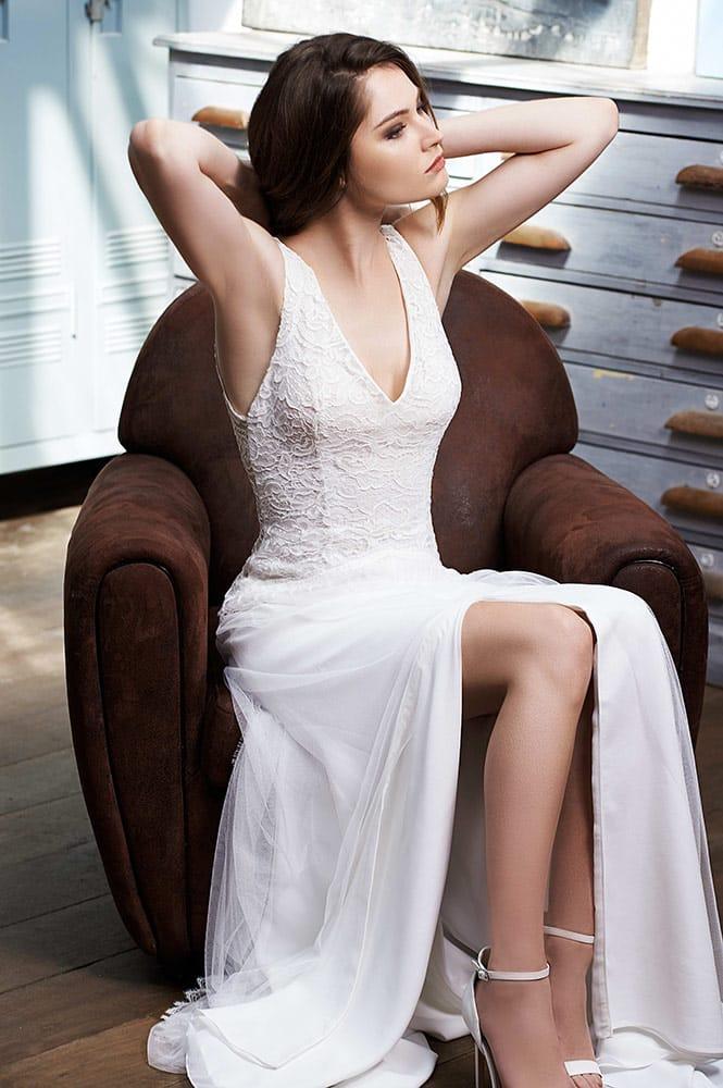 Robe de mariée - modèle Petra