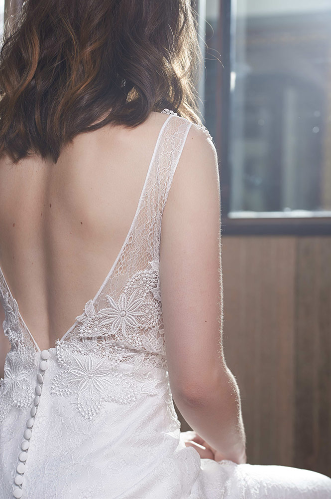 Robe de mariée - modèle Santorin