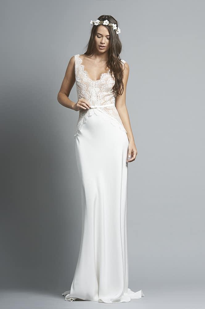 Robe de mariée sur mesure - modèle Bilbao