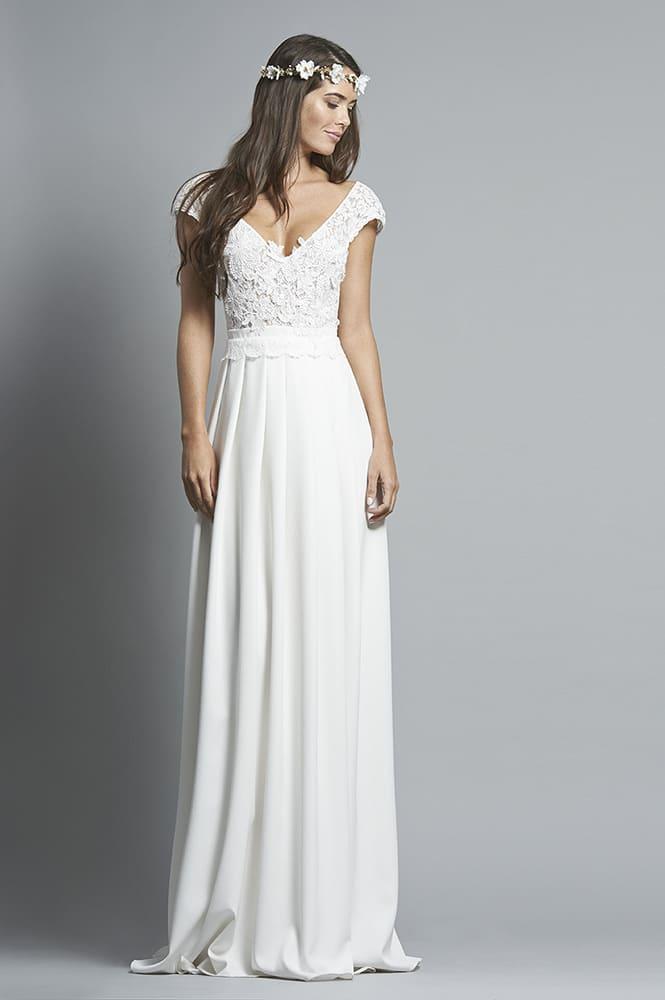 Robe de mariée sur mesure - modèle Goa