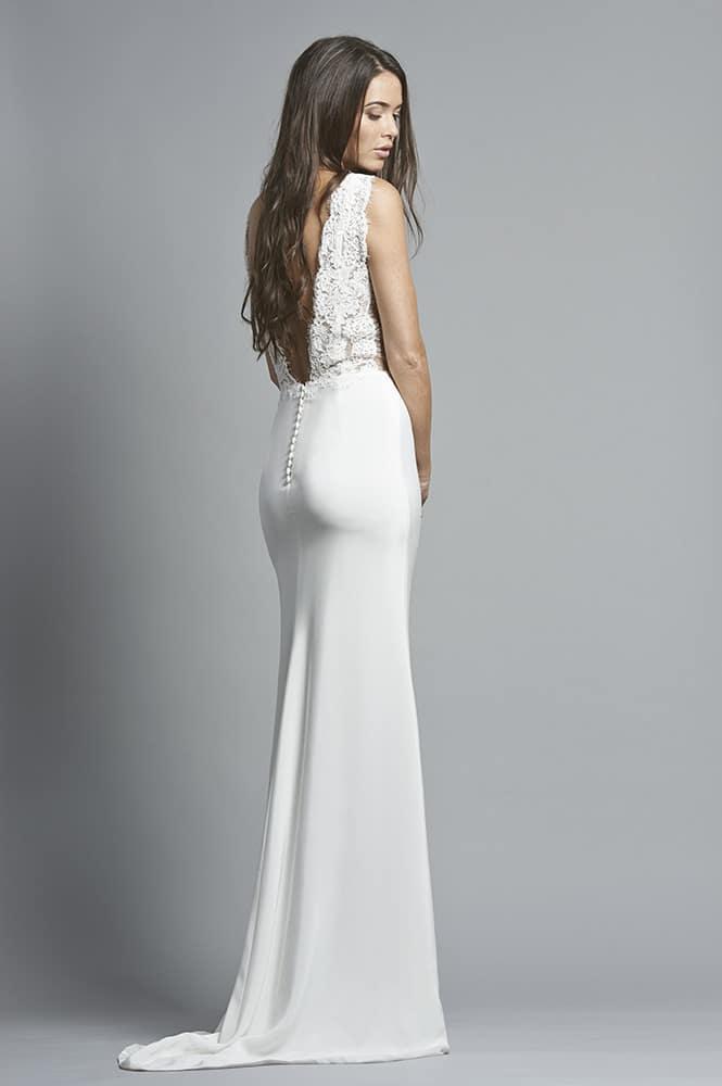 Robe de mariée sur mesure - modèle Malaga