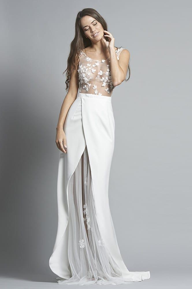 Robe de mariée sur mesure - modèle Male