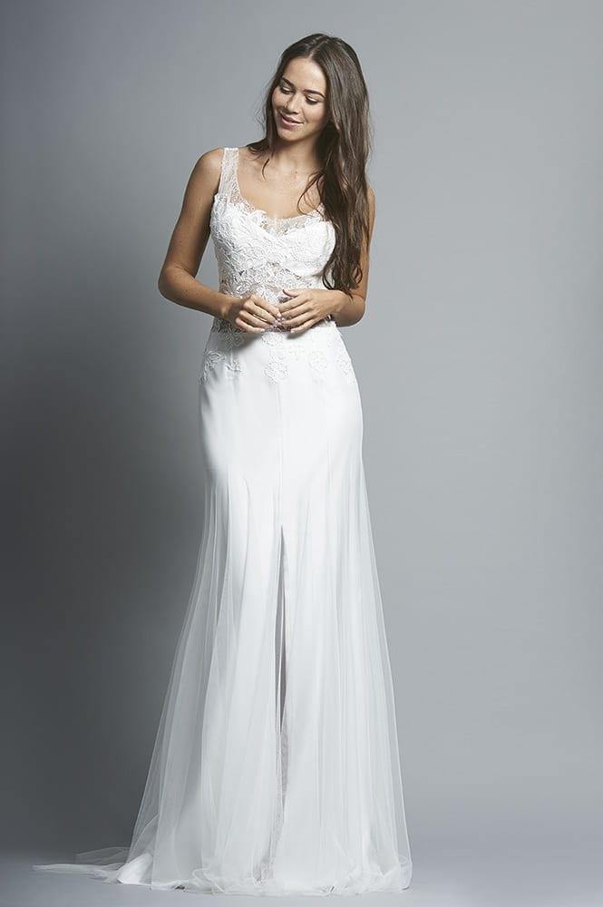 Robe de mariée sur mesure - modèle Palerme