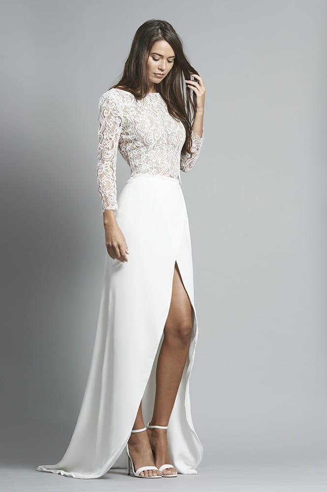 Robe de mariée sur mesure - modèle Riga