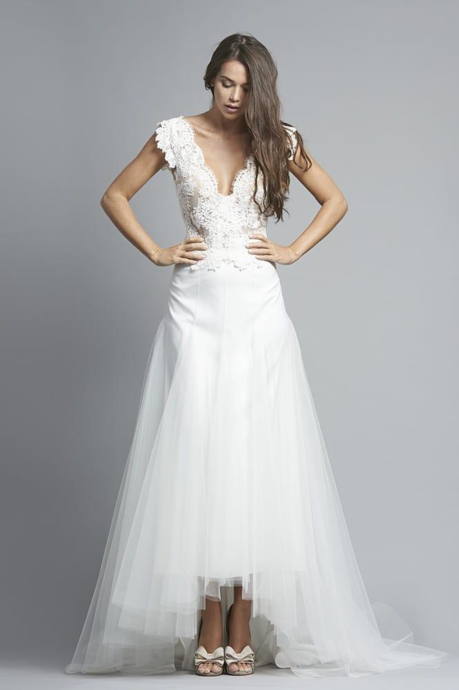 Robe de mariée sur mesure - modèle Rio
