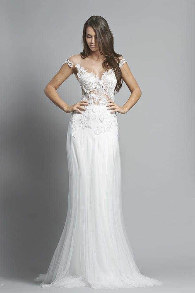 Robe de mariée sur mesure - modèle Santiago