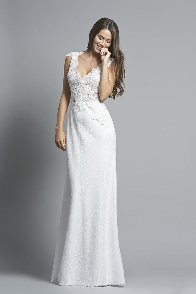 Robe de mariée sur mesure - modèle Santorin