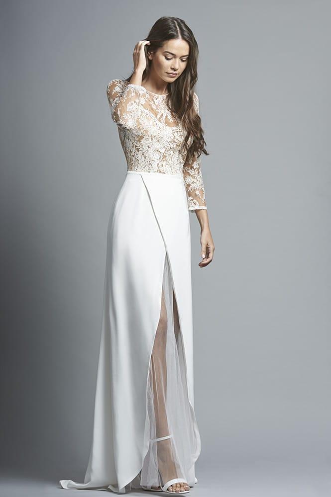 Robe de mariée sur mesure - modèle Séville