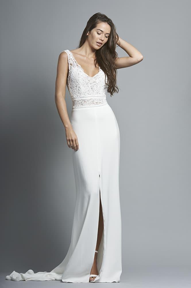 Robe de mariée sur mesure - modèle Sorano