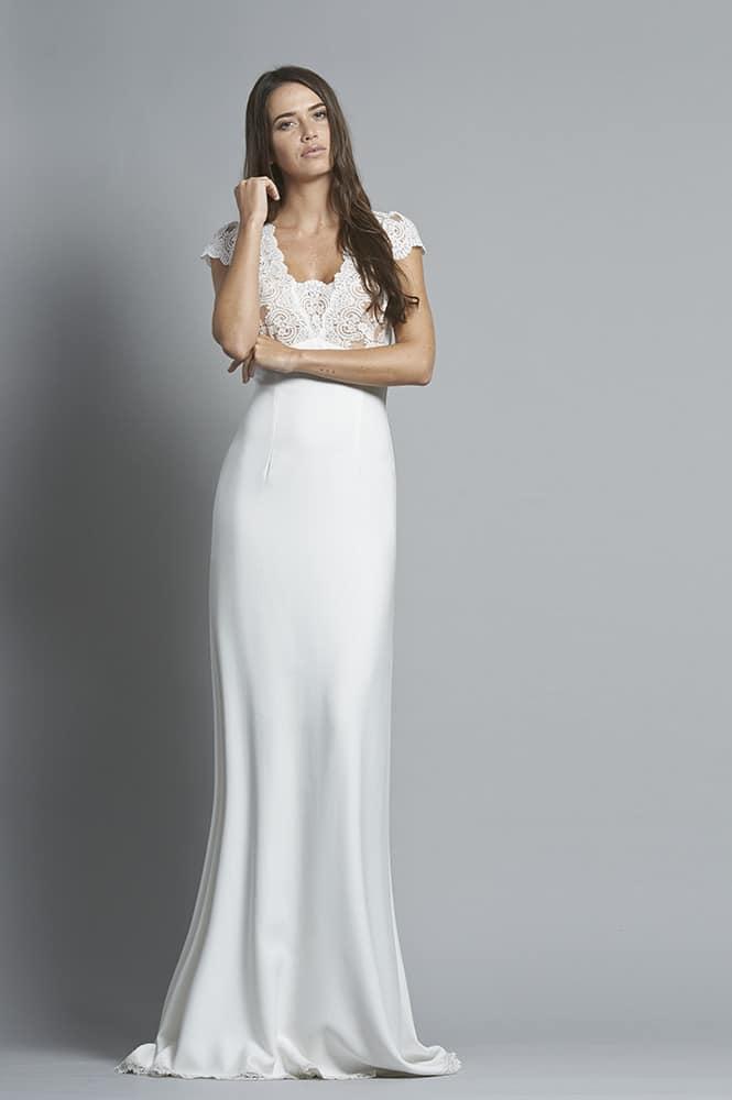Robe de mariée sur mesure - modèle Vérone