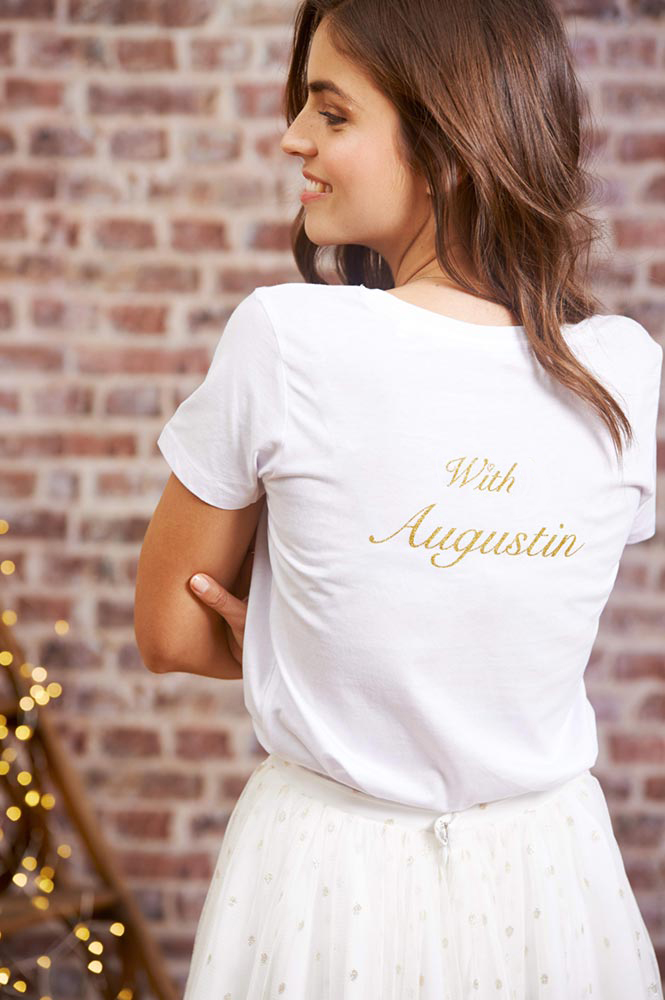 T-shirt with Augustin