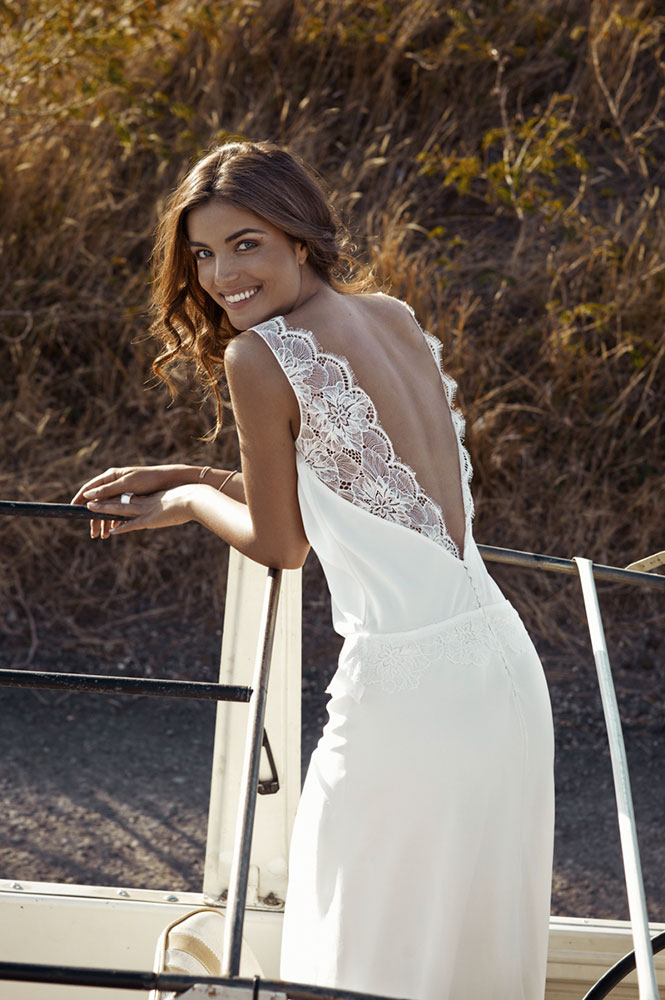 Robe de mariée - modèle Aloe