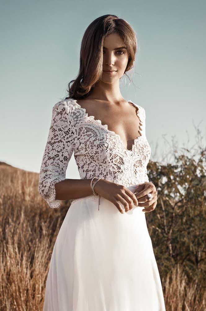 Robe de mariée - modèle Belouve