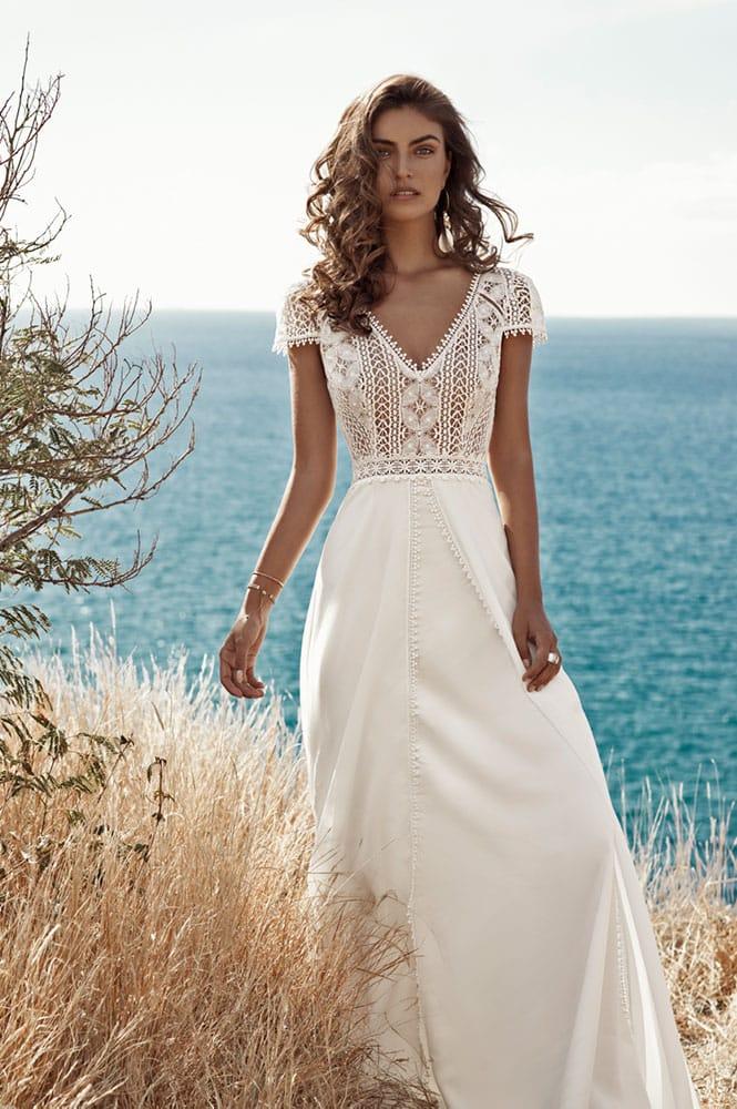 Robe de mariée - modèle Ermitage