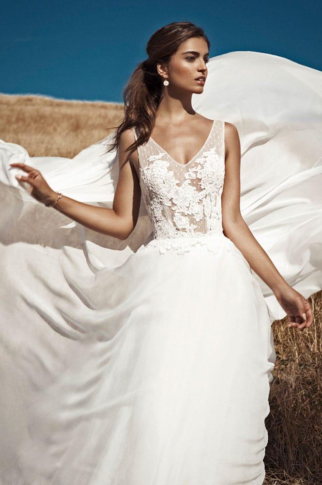 Robe de mariée - modèle Maloya