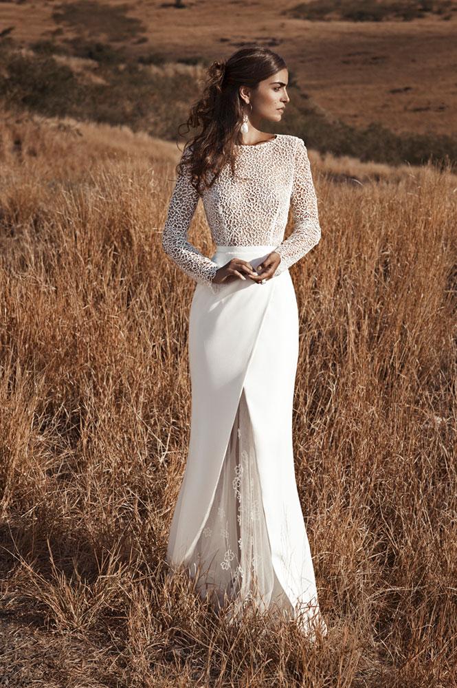 Robe de mariée - modèle Mascareigne