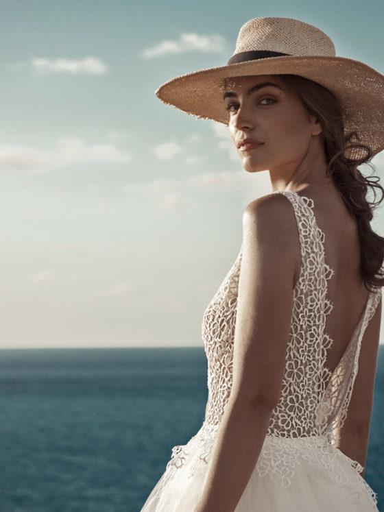 Robe de mariée - modèle Salazie