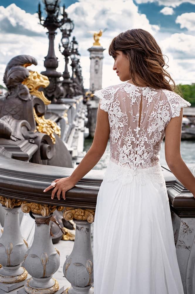 Robe de mariée made in France - Modèle Blanche