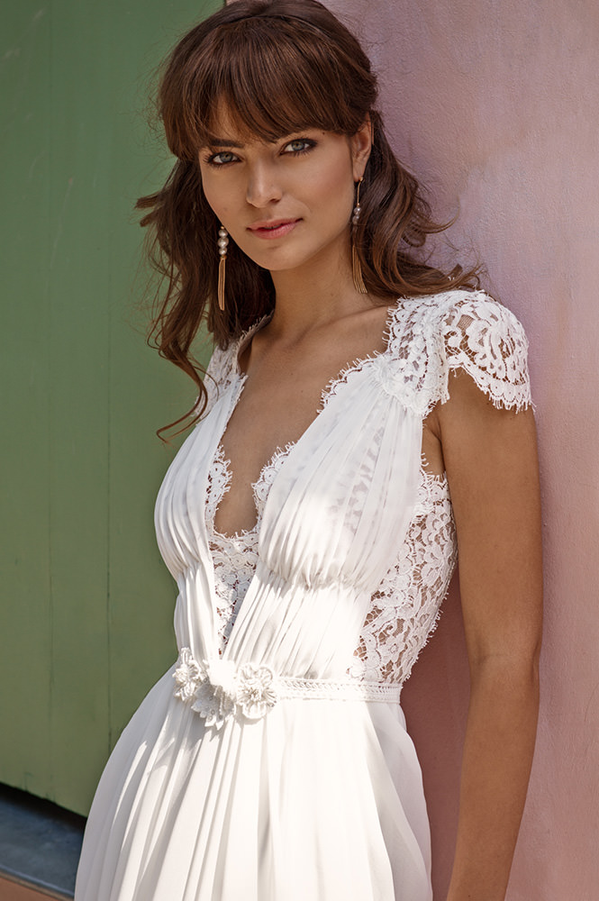 Robe de mariée made in France - Modèle Charonne