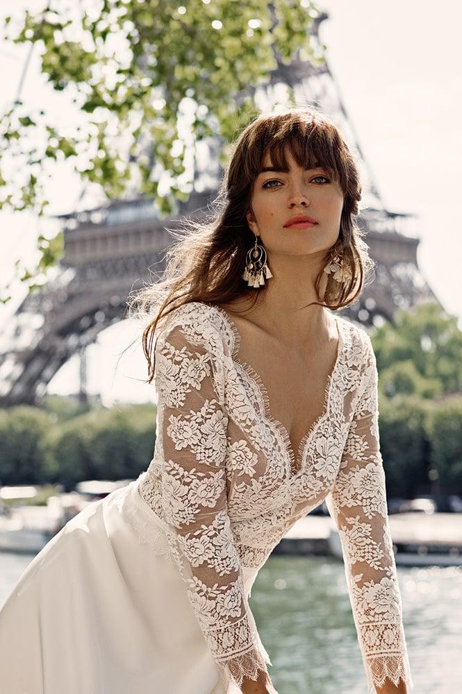 Robe de mariée made in France - Modèle Grenelle