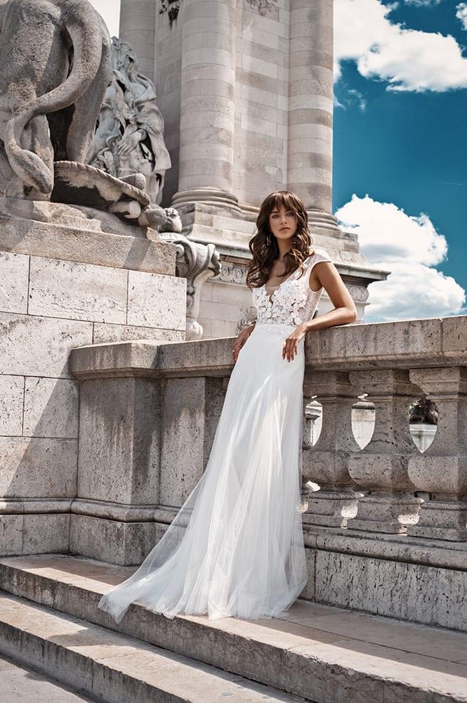 Robe de mariée made in France - Modèle Iéna