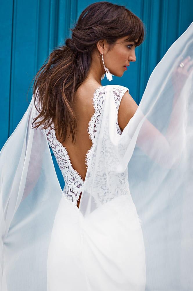 Robe de mariée made in France - Modèle Lecourbe