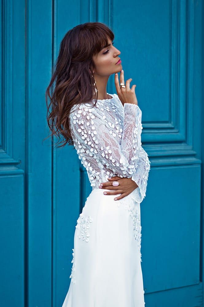 Robe de mariée made in France - Modèle Montaigne