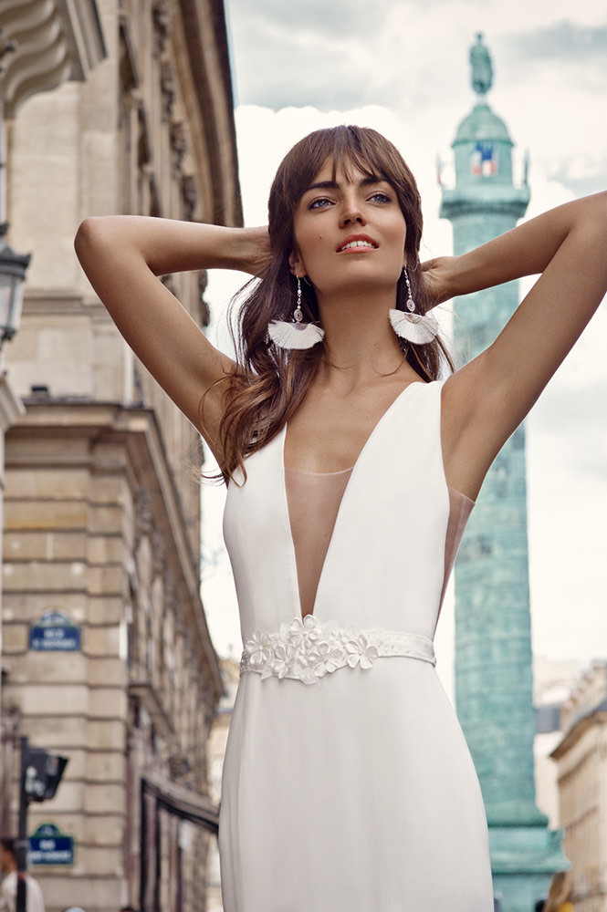Robe de mariée made in France - Modèle Vendôme